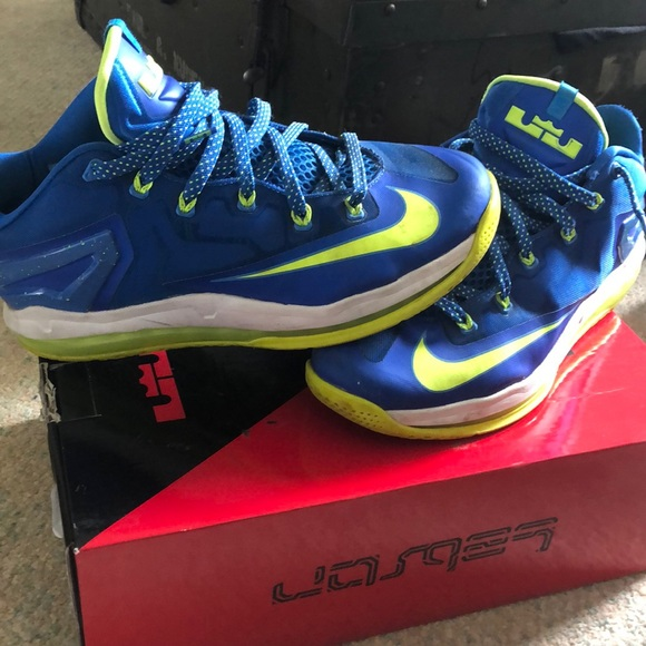 """competitive price 9c30a 279d4 Nike Lebron 11 low """"Sprite"""""""